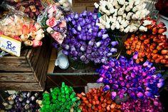 Cours Selaya flower market