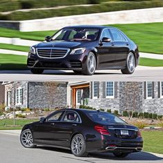 """Mercedes-Benz S560 - Car and Driver (@caranddriver) on Instagram: """"Among full-size luxury sedans, it's @MercedesBenz or nothing. . #Mercedes #MercedesBenz #Sclass…"""""""