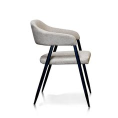 Upholstered dining chair by TyshawnUpholstered dining chair by TyshawnMinotti Lou Dining Table Fil Noir Dining Chair Chair dining fil lou minott . Dinning Chairs Modern, Steel Dining Chairs, Contemporary Dining Chairs, Cafe Chairs, High Chairs, Upholstered Dining Chairs, Dining Arm Chair, Chair Design, Armchair