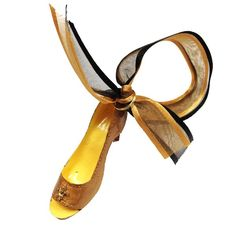 Gold+Fleur-de-Lis+High+Heel+Shoe+Ornament