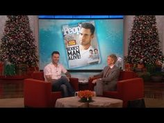 ▶ Sexiest Man Alive Adam Levine on His Title and Fiancée - YouTube
