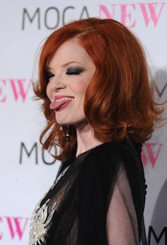 Shirley Manson and her beautiful hair