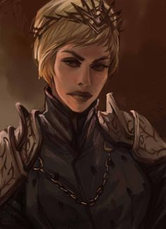 'Cersei' by Anta R. Familia Lannister, Character Portraits, Character Art, Hbo Game Of Thrones, Cersei Lannister, Good Movies To Watch, Body Shots, Best Fan, Life Is Strange