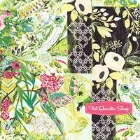 Millie Fleur Glam Collage Poise Yardage <br/>SKU