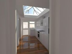 extension incorporating the use of a roof lantern- lovely airy space