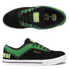 af3133f3f64 Emerica G-Code Shake Junt Black Green Gold