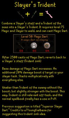 Suggestion: Slayer's Trident (Trident sink)