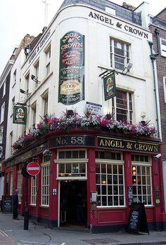 Angel & Crown Pub, St. Martin's Lane, London