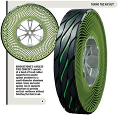 Airless Tire-and-Wheel from Bridgestone