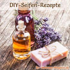 Seife herstellen - Seifen-Rezept: Peelingseife selbst machen - lässt Unreinheiten verschwinden und zaubert im Nu eine seidenweiche, strahlende Haut ...
