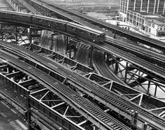elevated train station images | New York Subway Train Tracks Photograph - New York Subway Train Tracks ...