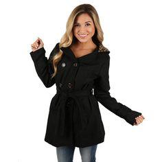 Glamorous Nonstop Coat Black | Impressions Online Women's Clothing Boutique #shopimpressions