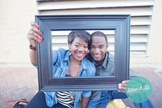 Downtown Glendale Engagement Session #photoframe #cutecouple