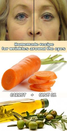 Homemade recipe for wrinkles around the eyes