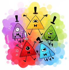 Inside Out Bills by Damare on DeviantArt Reverse Gravity Falls, Gravity Falls Funny, Gravity Falls Anime, Gravity Falls Dipper, Gravity Falls Bill Cipher, Gravity Falls Comics, Reverse Falls, Gravity Falls Personajes, Will Cipher