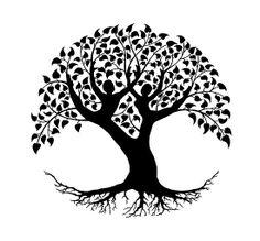 Tree of life love couple mandala big & small sizes colour wall sticker floral modern ' Tree Of Life Art, Tree Art, Mandalas Painting, Tree Logos, Celtic Tree, Scroll Saw Patterns, Tree Silhouette, Life Tattoos, Pyrography