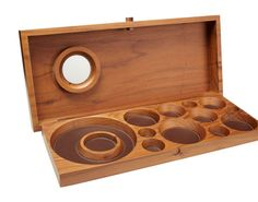 Sculptural Jewelry Boxes : wooden jewelry box