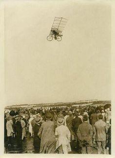 Flying bikes...