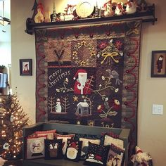 Day Quilt is called Merry Christmas by Heart to Hand. Going to talk hubby into painting the bench red this winter when he can't play golf. Head on over to and for more inspiration Merry Christmas, Xmas, Christmas Stuff, Scrappy Quilts, Play Golf, Heart, Winter, Instagram Posts, Inspiration