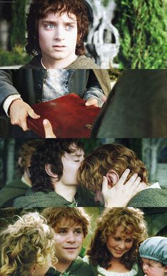 'But,' said Sam, and tears started in his eyes, 'I thought you were going to enjoy the Shire, too, for years and years, after all you have done.' 'So I thought too, once. But I have been too deeply hurt, Sam. I tried to save the Shire, and it has been saved, but not for me. It must often be so, Sam, when things are in danger: some one has to give them up, lose them, so that others may keep them. But you are my heir: all that I had and might have had I leave to you...