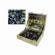 Bulk Buys Inspirational zen glass stones, 72/Case (KOLE-HB757)