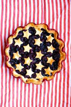 Stars and Stripes Pie