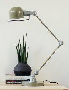 Jeilde tafellamp Davin Lumidem look a like groen
