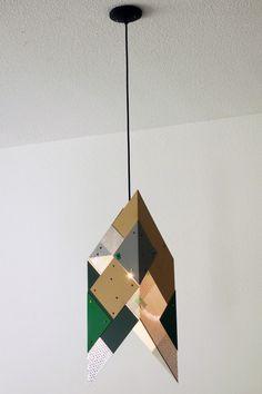 jason meadows - untitled pendant #1 - green