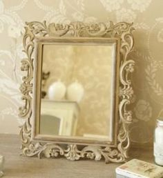 Carved Washed Wood Mirror by Melody Maison, http://www.amazon.co.uk/dp/B009AD1WOG/ref=cm_sw_r_pi_dp_n.55sb1BKG228 for table plan