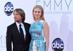 Musician Keith Urban and wife actress Nicole Kidman.  Frazer Harrison / GETTY IMAGES