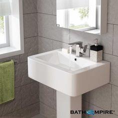 Atlin Single Lever Basin Mixer Tap - BathEmpire