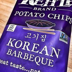 Totally legit. Try them! #dontjudge #notpaleo #koreanbbq #kettlechips