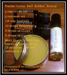 Testicle essential oil butter that women can use too in order to promote sexual healing. Purchase oils at www.mydoterra.com/agree