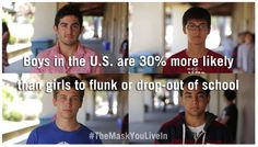 """The Mask You Live In"" - our new film on American masculinity - has raised nearly 80% of its goal on Kickstarter in one week."