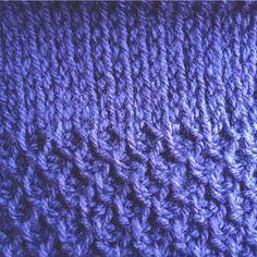 Twigs & Pods: Tunisian Crochet Sampler