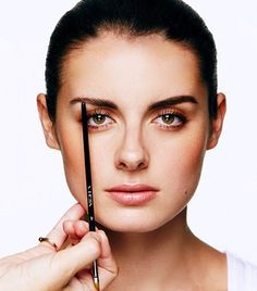 Find the perfect eyebrow shape for your face.