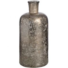 Get your Antique Silver Mercury Glass Bottle Vase from Baytree Interiors or choose from their selection of price matched Vases. Bottle Vase, Glass Bottles, Glass Vase, Skeleton Wall Clock, Clock Wall, Large Candle Holders, Hill Interiors, Curved Glass, Ceramic Table