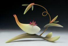 Jeffrey Lloyd Dever: polymer clay teapot
