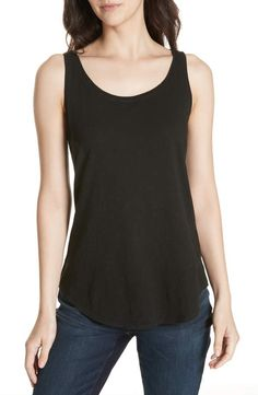 Shop a great selection of Eileen Fisher Organic Cotton Jersey Tank (Regular & Petite). Find new offer and Similar products for Eileen Fisher Organic Cotton Jersey Tank (Regular & Petite). Red Sleeveless Hoodie, Vintage Tee Shirts, Cropped Wide Leg Jeans, Stylish Tops, Two Piece Dress, Petite Fashion, Womens Fashion, Boho Tops, Eileen Fisher