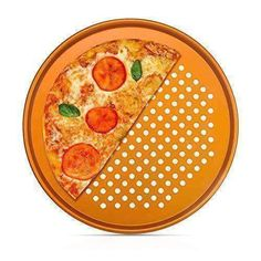 13 inch Nonstick Copper Pizza Pan with Holes, Heavyweight Durable – DealsDot. Kitchen Shop, Chef Kitchen, Large Air Fryer, 3 Ingredient Cookies, Turkey Fryer, Ceramic Bakeware, Crispy Pizza, Small Kitchen Tables, Pizza Pan