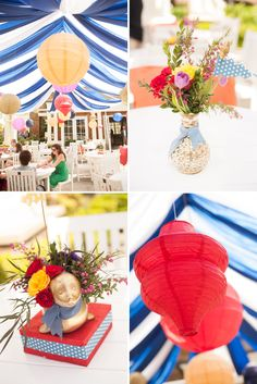 Whimsical Circus Themed Baby Shower