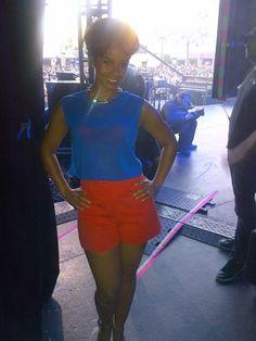 Alicia keys spring outfit