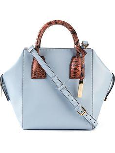 Stella Mccartney Small  cavendish  Tote - Tiziana Fausti - Farfetch.com  Blue Handbags d518dfb7ffb62