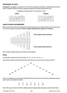 Novo bona ccb Do Re Mi, Oboe, Trombone, Nova, Piano, Sheet Music, Musicals, Alto Saxophone, Learning Music