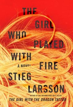 The cover for Stieg Larsson's best-selling The Girl Who Played With Fire was designed by one of the most famous book cover designers in the industry, Peter Mendelsund.