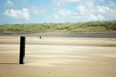 op het strand in Cadzand, Zeeuws Vlaanderen