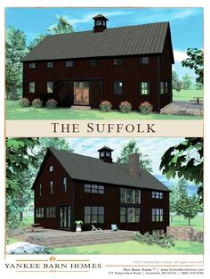 New Barn House Design and Floor Plans: The Suffolk | Barn, Farming ...
