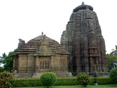 The Raja Rani Temple in Bhubaneshwar, a temple that has no idol, not dedicated to any deity as such.