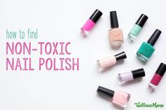 Best non-toxic nail polish options