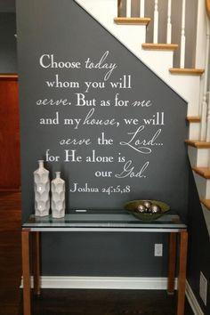 Joshua 24:15,18  ❤